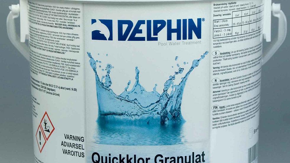 Delphin Quickklor Granulat Pool 3kg