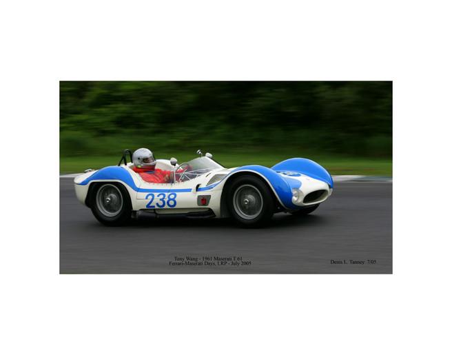 1961 Maserati Birdcage T61