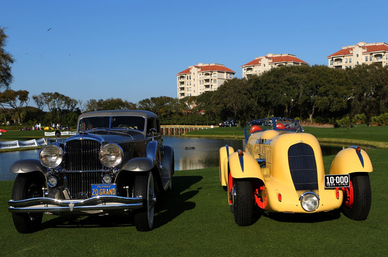 "Double Duesenberg Best in Show at Amelia: 1935 Marmon Meteor SJ Speedster Special and the 1937 SJN Arlington Torpedo Sedan, ""Twenty Grand"""