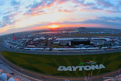 Sunrise at Rolex 24 @ Daytona
