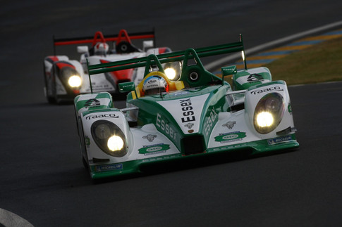 P2's In Lock-Step at LeMans