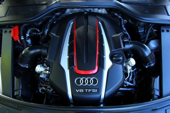 2013 Audi S8 Engine