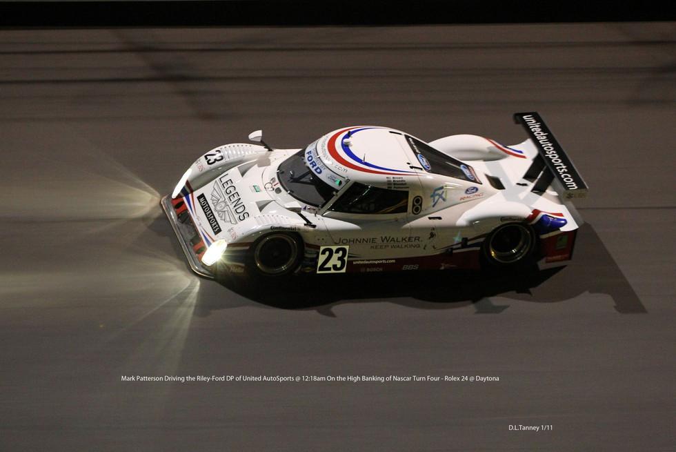 Mark Patterson, Turn 4, midnight, Rolex 24- Daytona