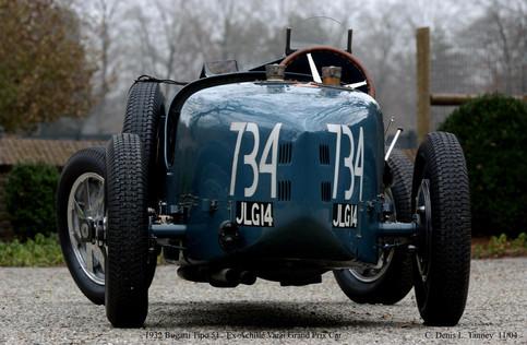 1932 Bugatti Tipo 51 Ex Achille Varzi GP car-AQ