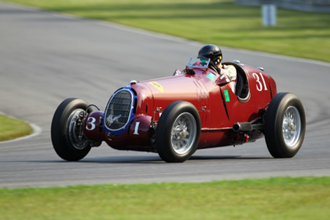 Pre-WWII Alfa GP Car @ Mont Tremblant 2011