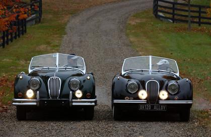 Two 1952 Jaguar XK 120 Aluminum Roadsters – British Car Magazine