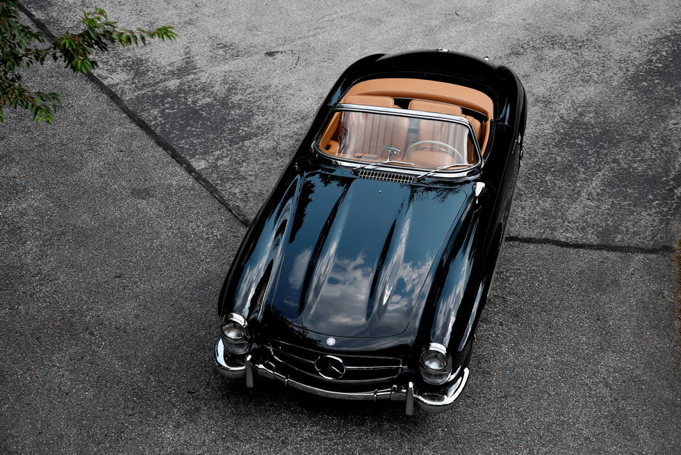 1957 Mercedes Benz 300 SLR with Rudge Wheels – The Star
