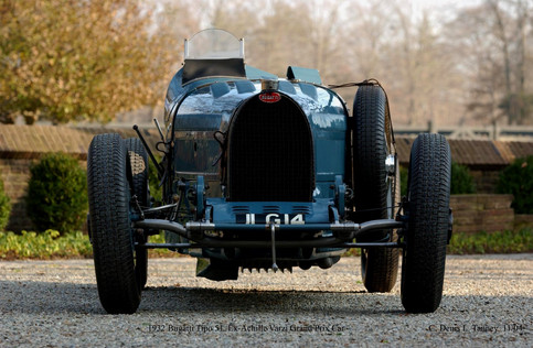 1932 Bugatti Tipo 51 Ex Achille Varzi GP car – AQ