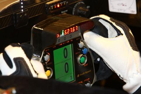 Audi R10 TDI Steering Wheel