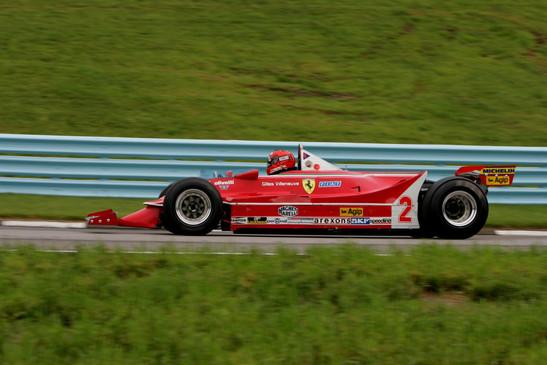 Ex- Gille Villeneuve Ferrari F1, WGI 2006
