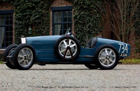 Bugatti Tipo 51 Ex Achille Varzi GP Car- AQ
