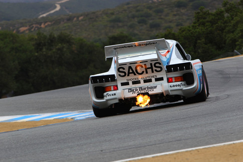 Sachs Porsche 935 Turbo 2011, Laguna Seca, RMR, Monterey