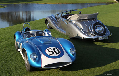 Best In Show 1958 Scarab MKII Sports Racer and 1937 Horch 853 Voll and Ruhrbeck Sport Cabriolet – Chronos Magazine