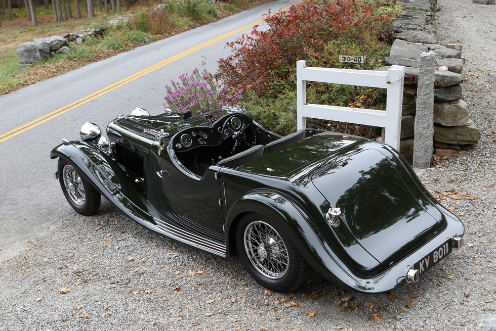 1934 Walmsley Jaguar SS 100- Jaguar World Magazine