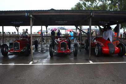 One of the Many Garages at Goodwood 2014