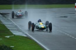 Racing in The Rain. 2014 Goodwood Revival