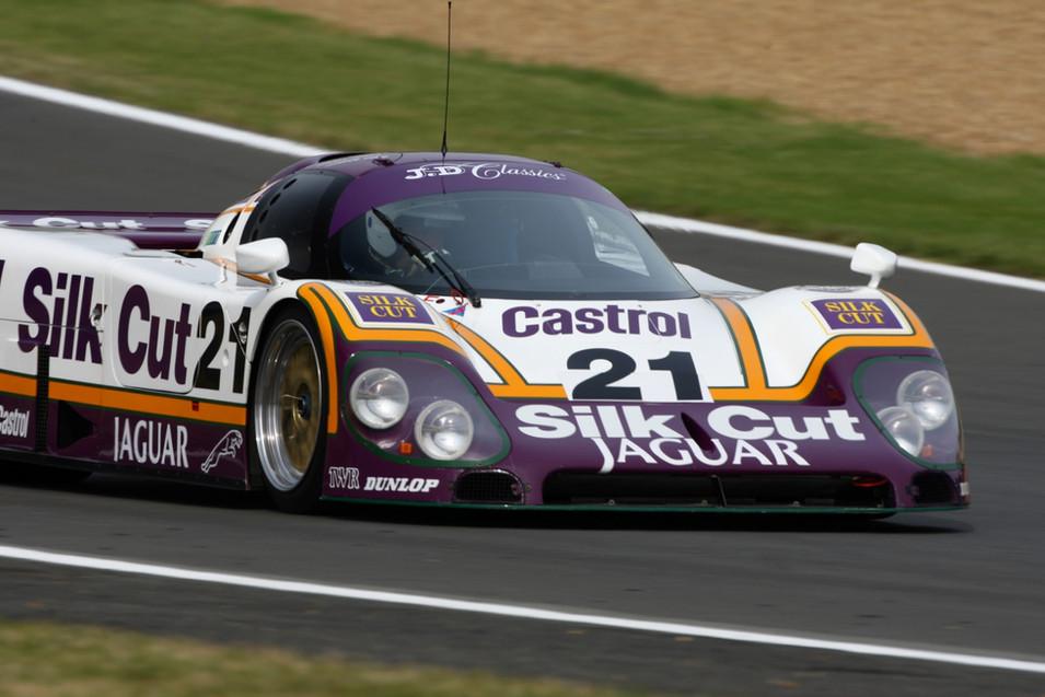 2008 Legends of LeMans Group C XJR 12 Jaguar