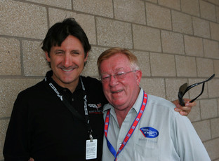 Ron Fellows and Dr. Don Panoz