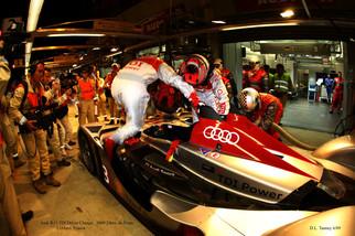 Audi Pit Stop and Driver Change @ LeMans