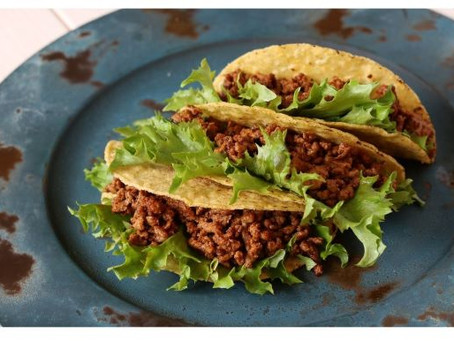 TACOS with YELLOW RICE