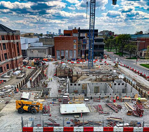 Thompson Concrete Jobsite, Columbus, Ohio