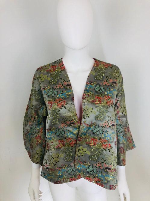 Veste Style Vintage Asiatique