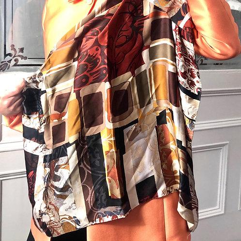 Foulard couleurs d'automne