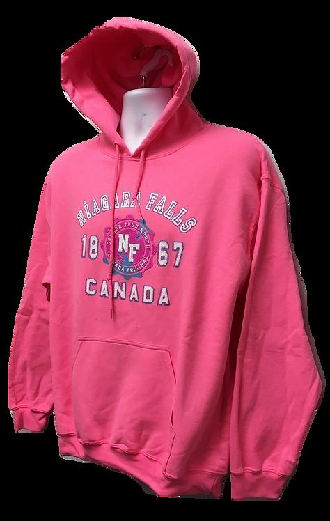 1850-Niagara Falls Hot Pink Puff