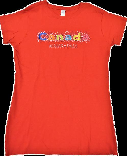 5562-Canada Sparkle Studs