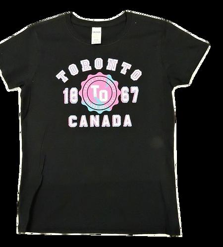 5000L-Toronto Hot Pink Puff