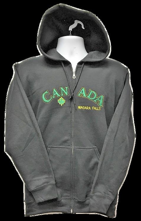 1860-Cracked Canada Irish Green Yellow