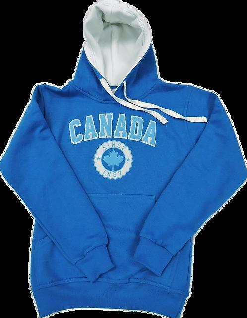 L901-Canada Applique Turquoise