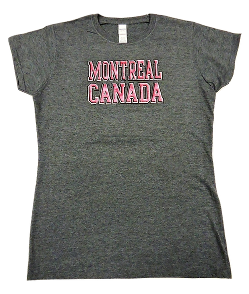 5000L-Montreal Raised Letters Hot Pink