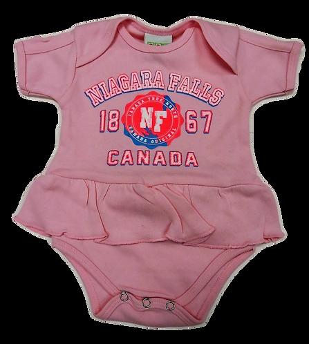1444-Niagara Falls Hot Pink Puff