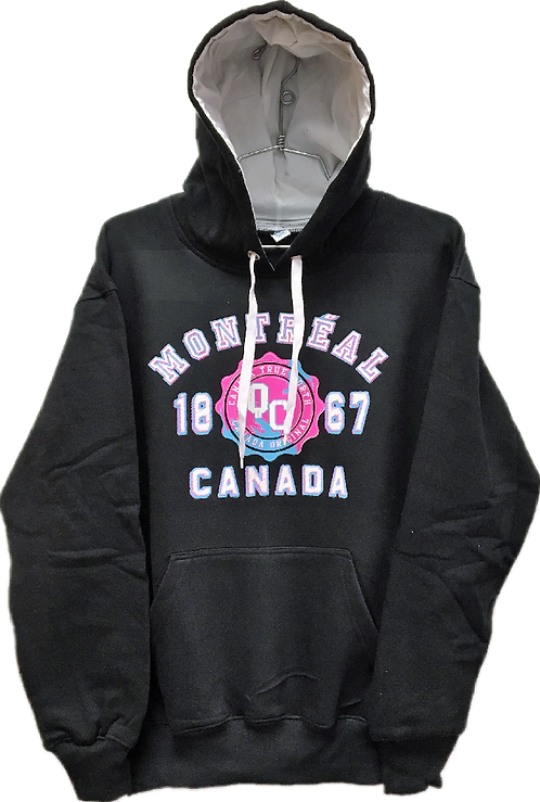 L901-Montreal Hot Pink Puff