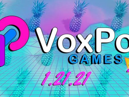 VoxPop x BSG (1/12/21)