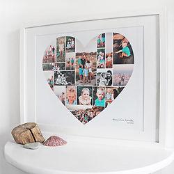 Heart, art, design, photo's, montage, family, memories
