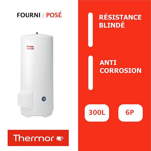 Chauffe-eau 300L Thermor Blindé, Vertical, Stable sur socle