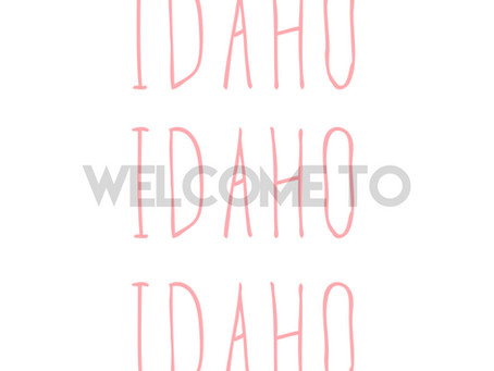 We are now in Idaho!