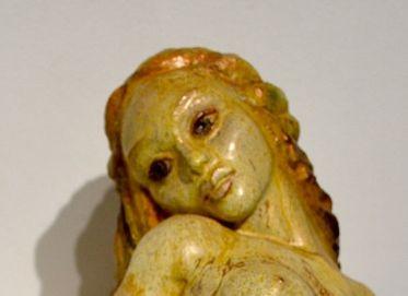 Detail: Mermaid face