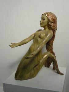 Mermaid scultpture 1
