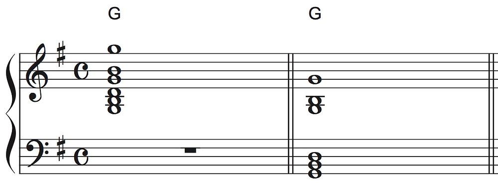 Gコードの記譜、実音