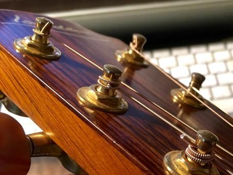 弦の巻き方3種類!