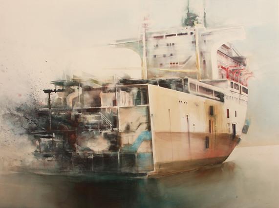 Mitt skip er lastet 1 120 x 165 cm