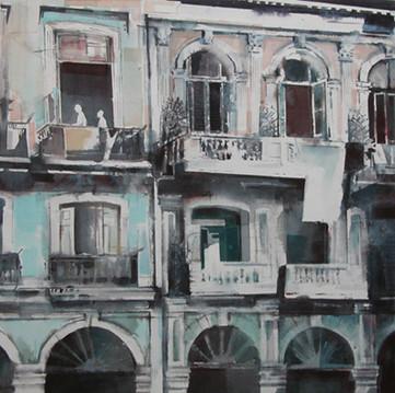 Fasade 2 86 x 84 cm