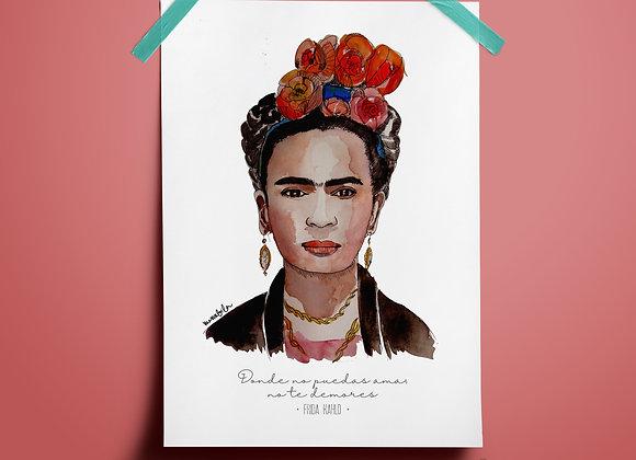 Print Frida 1