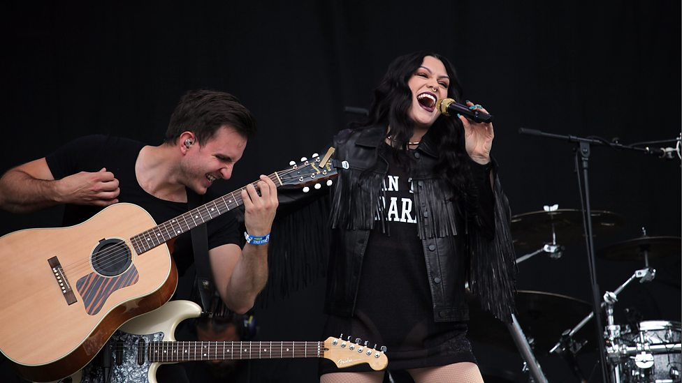 Ryan Haberfield and Jessie J