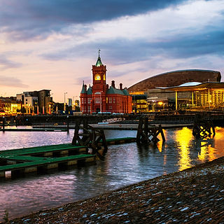 Property Investment Cardiff, property sourcing south wales, property newport, property in Swansea, property in Bridgend, Property investing wales, Cardiff, UK. Waterfront at night in Card