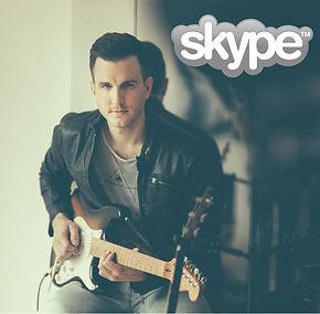 Skype guitar lesson, Facetime guitar lesson, webcam guitar lesson, skype tuition, guitar lessons, jessie j guitarist, UK session guitarist, London, Wales