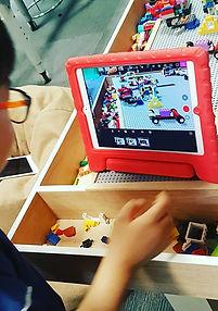 taller niños lego
